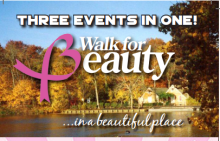 walk for beauty cancer research