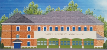 Proposed South Country Ambulance Building